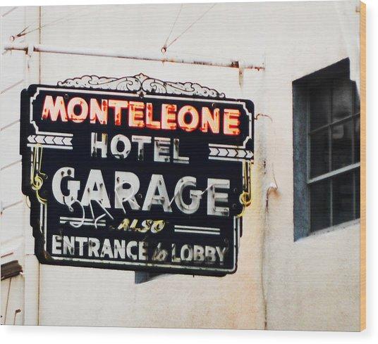 Monteleone Hotel Wood Print