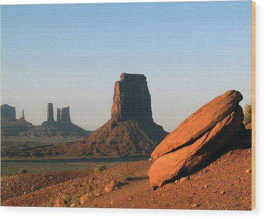 Monument Valley Afternoon Wood Print