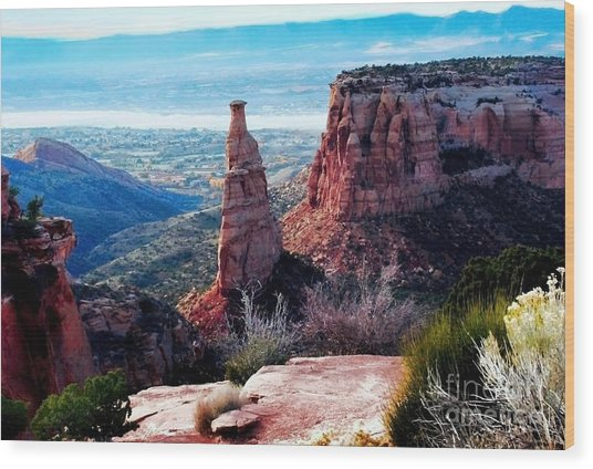 Monument Valley Colorado Wood Print