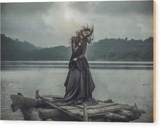 Mood For Dance Wood Print