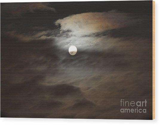 Moon Shine 2 Wood Print