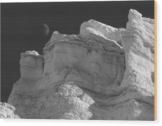 Moonshadow Wood Print