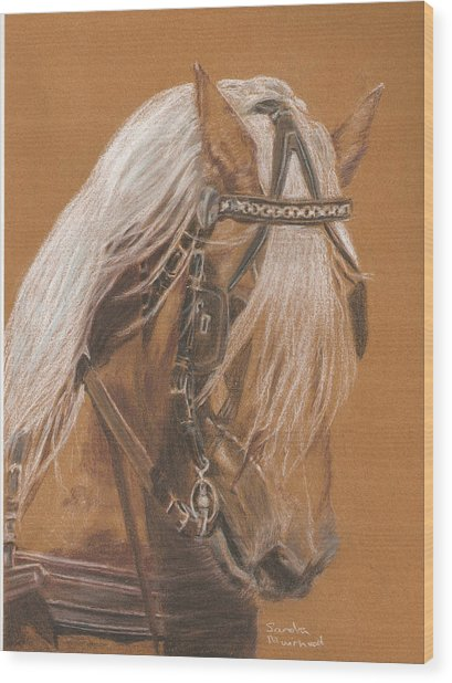 More From Fer A Cheval Wood Print