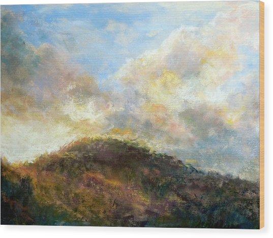 Morning At The Dune Wood Print by Margaret Billups