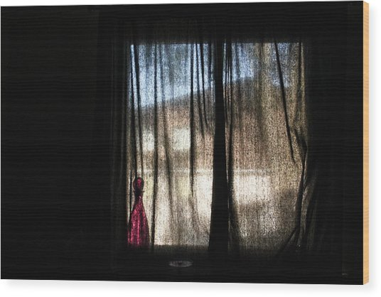 Morning Dreams Wood Print