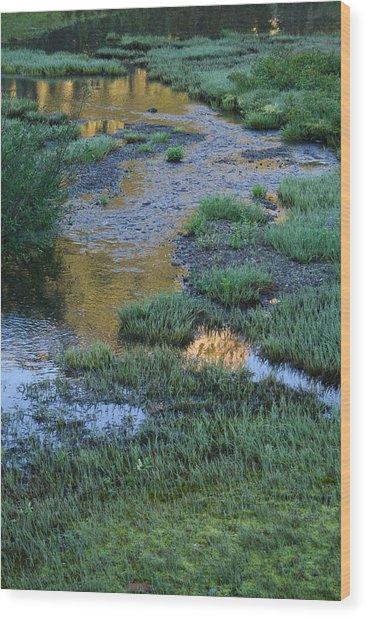Morning Magic Tipsoo Lake Wa Wood Print