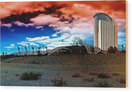 Morongo Casino Wood Print