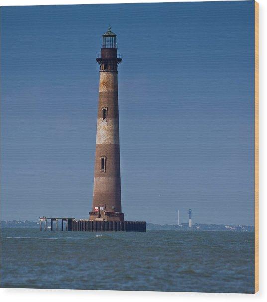 Morris Island Light With Sullivan's Wood Print