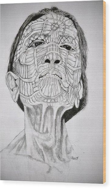 Morro Old Woman Wood Print by Glenn Calloway