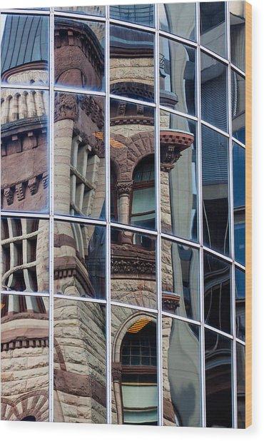 Mosaic Of Reflections Wood Print