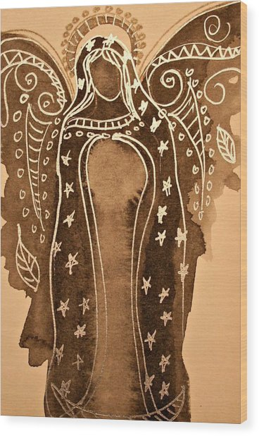 Mother Mary Guadalupe  Wood Print