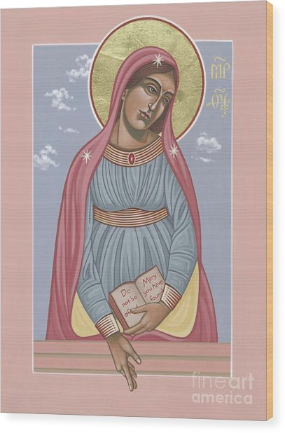 Mother Of Holy Hope 263 Wood Print