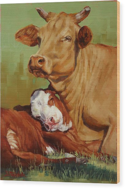 Motherly Love Wood Print
