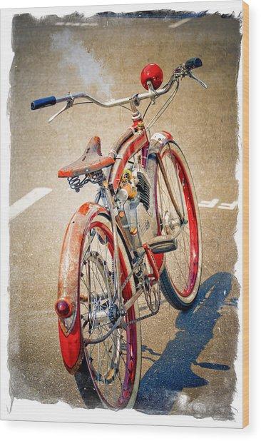 Motor Bike Wood Print