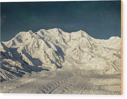 Mount Blackburn Wood Print