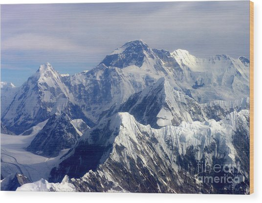 Mount Everest  Wood Print
