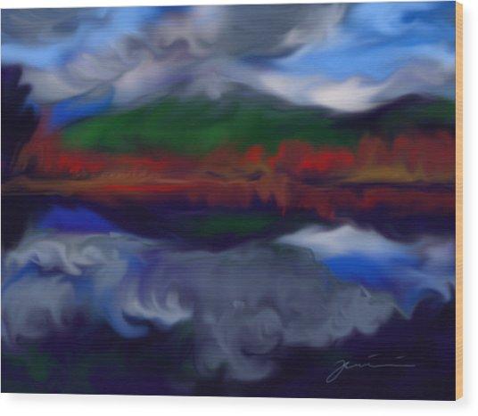 Mount Monadnock Wood Print
