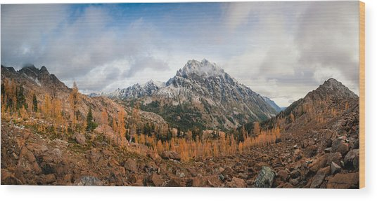 Mount Stuart Panorama Wood Print