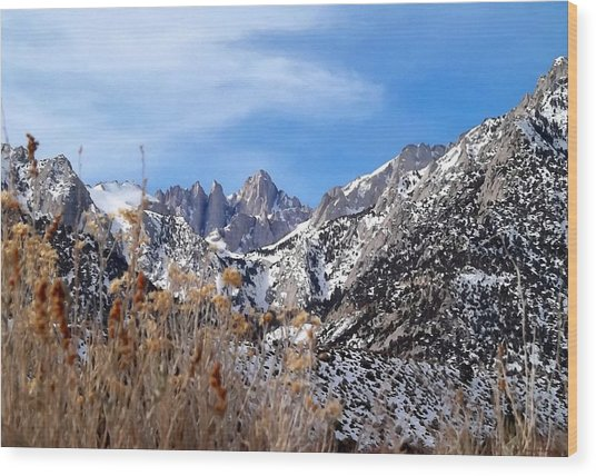 Mount Whitney - California Wood Print