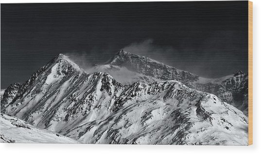 Mountainscape N. 5 Wood Print