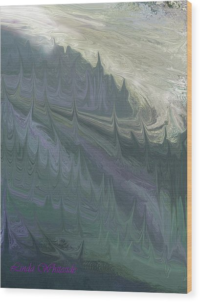 Mountian Magic Wood Print