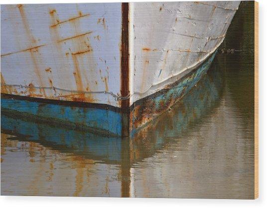Mr. Bell's Boat Wood Print