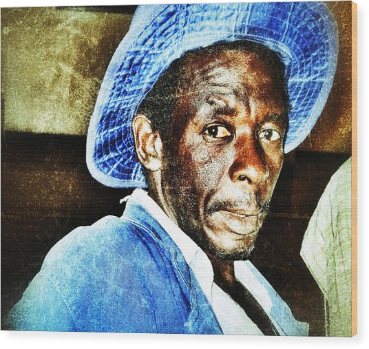Wood Print featuring the photograph Mr. Jinja by Al Harden
