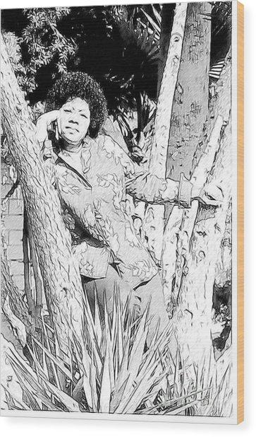Ms. Jackie Wood Print
