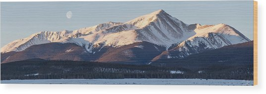 Mt. Elbert Wood Print