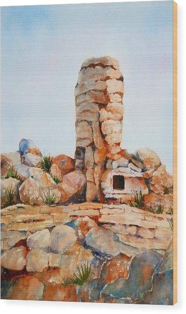 Mt Lemmon Tucson Az Wood Print