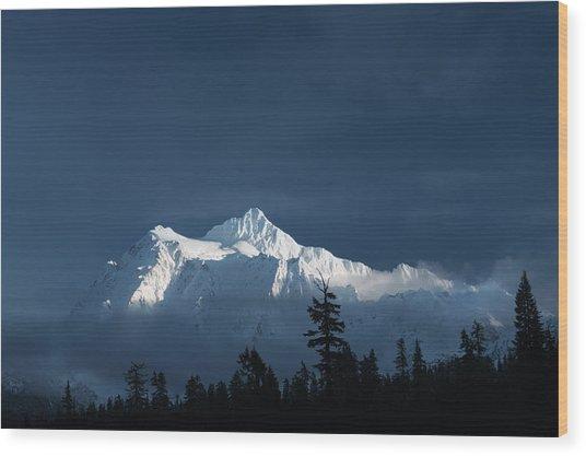 Mt Shuksan Wood Print