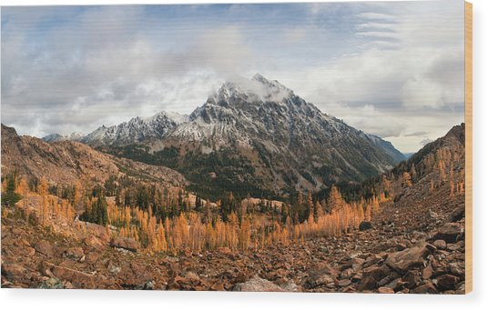 Mt. Stuart Wood Print