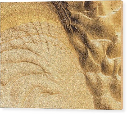 Mud Flare Wood Print
