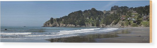 Muir Beach Wood Print