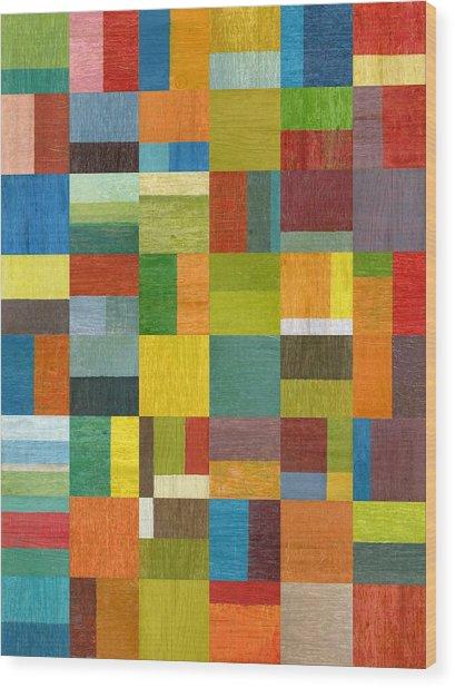 Multiple Exposures Lv Wood Print