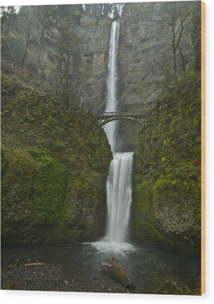 Multnomah Falls 0403131 Wood Print