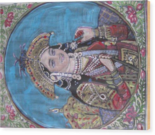 Mumtaz Wood Print