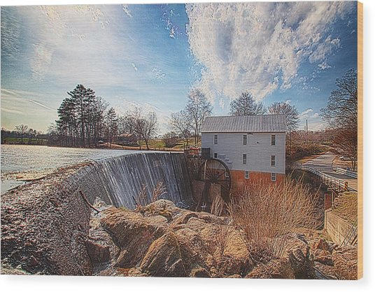 Murray's Mill Wood Print