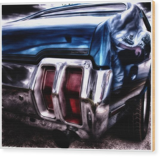 Muscle Car Wood Print
