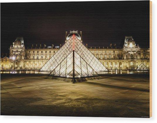 Musee Du Louvre Wood Print
