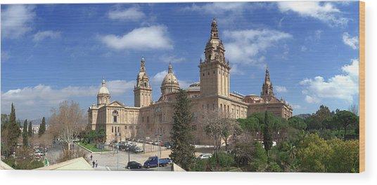 Museu Nacional Dart De Catalunya Wood Print