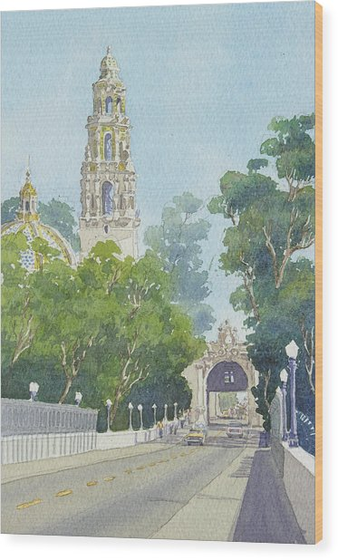 Museum Of Man Balboa Park Wood Print