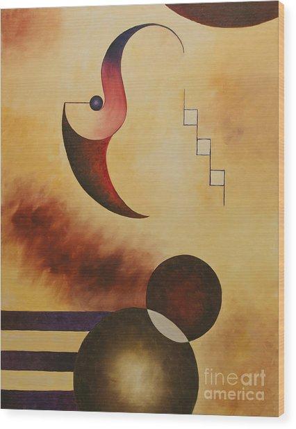 Musical Journey IIi Wood Print