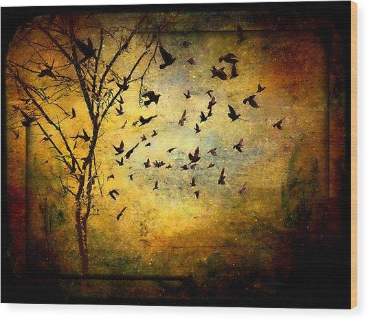 Musicisti Dell'aria Wood Print