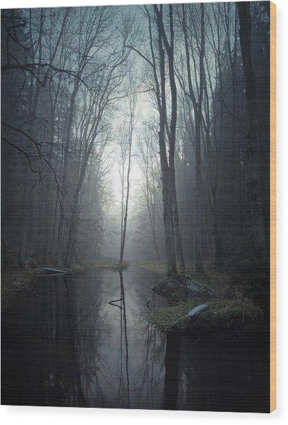 Mute II Wood Print