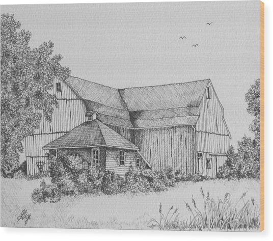 My Barn Wood Print