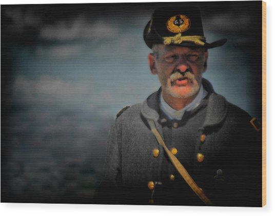 My Captain Wood Print