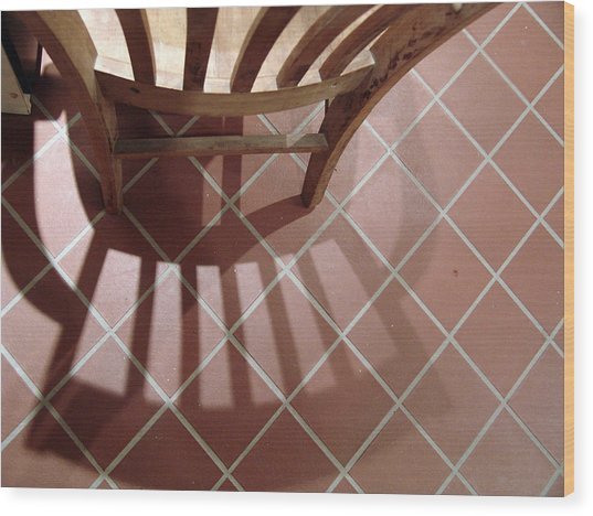 My Chair Wood Print