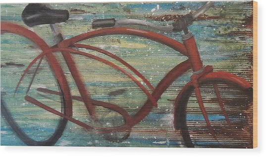 My Cruiser II Wood Print by Vivian Mora