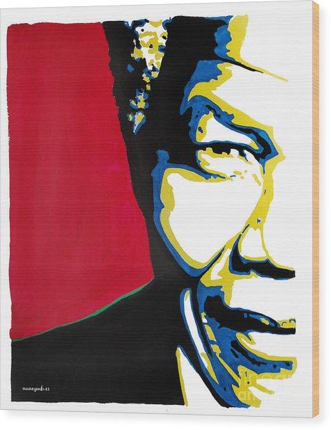 My Dear Nelson Mandela Wood Print